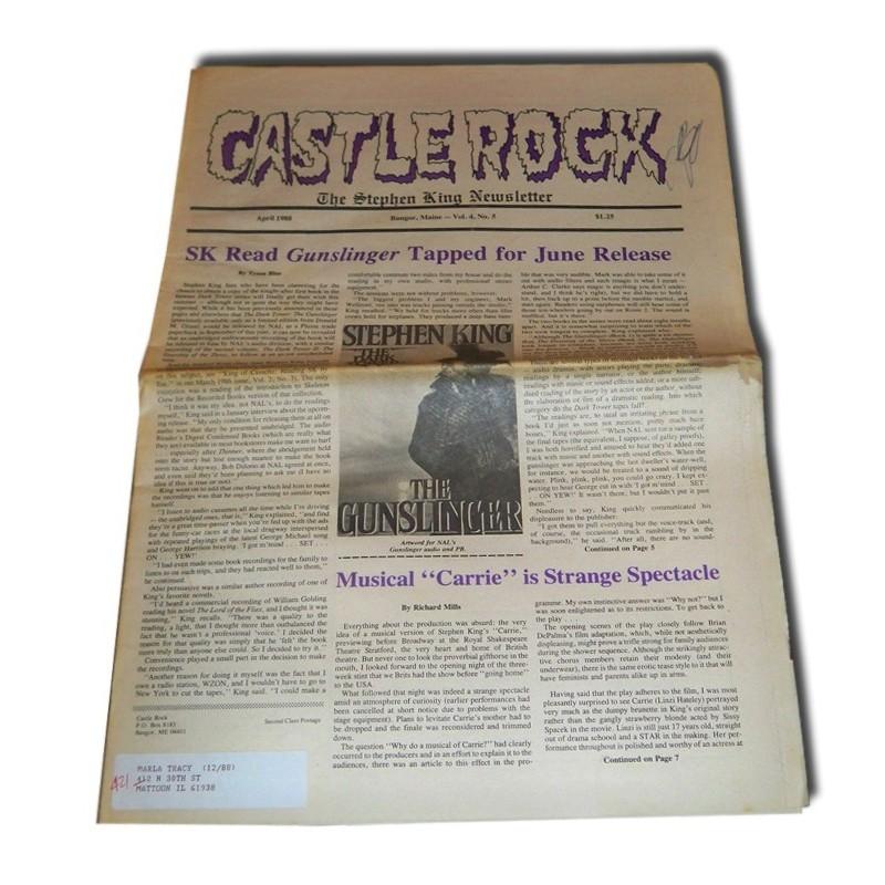 Castle Rock newsletter - Abril 88