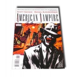 American Vampire 2 - N.1 Firmado por R. Albuquerque (Inglés)