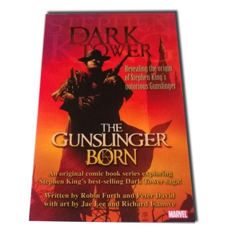 The Gunslinger Born - Postal promocional