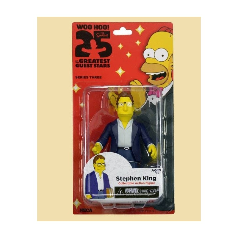 Action figure Simpson Stephen King