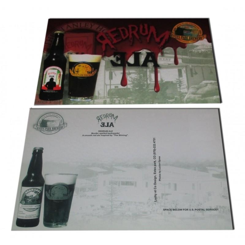 Redrum Ale - Postal Promocional