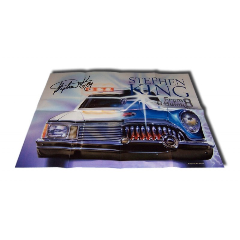 From a Buick 8 - Poster promocional con firma impresa.