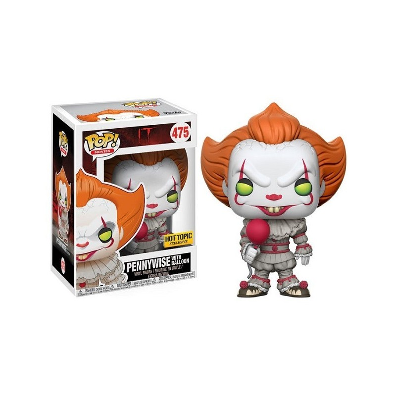 Funko Pop Pennywise (IT) Ed. limitada exclusivos HOT TOPIC