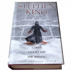Carrie - Salem's lot - The shining. Three novels