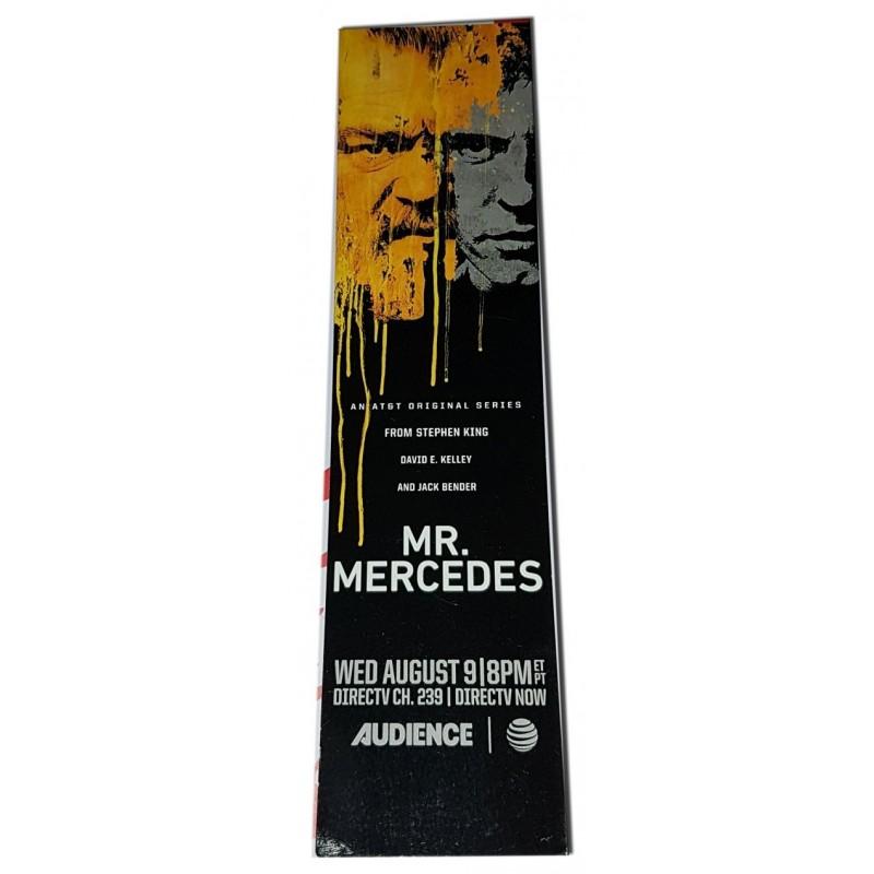 Señalador promocional Mr Mercedes