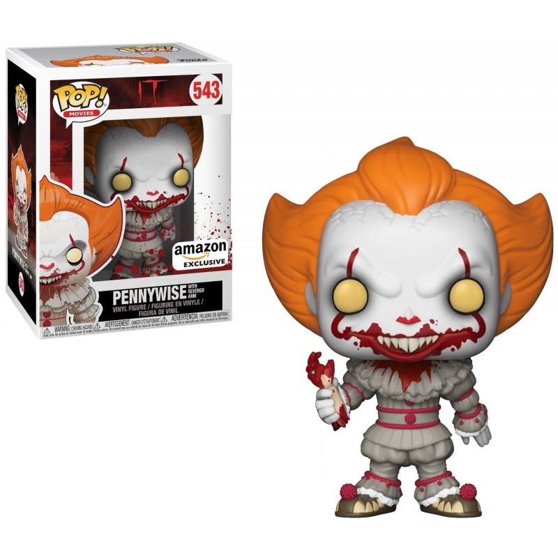 Funko Pop - IT - Pennywise with Severed Arm - Exclusive