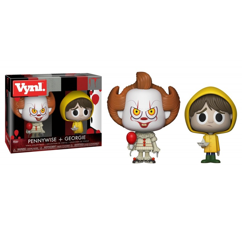 Funko Vynil - IT - Georgie and Pennywise