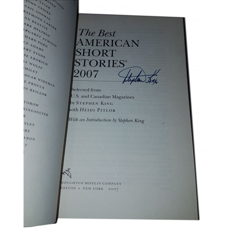 Best American Short Stories 2007 - Firmado por Stephen King