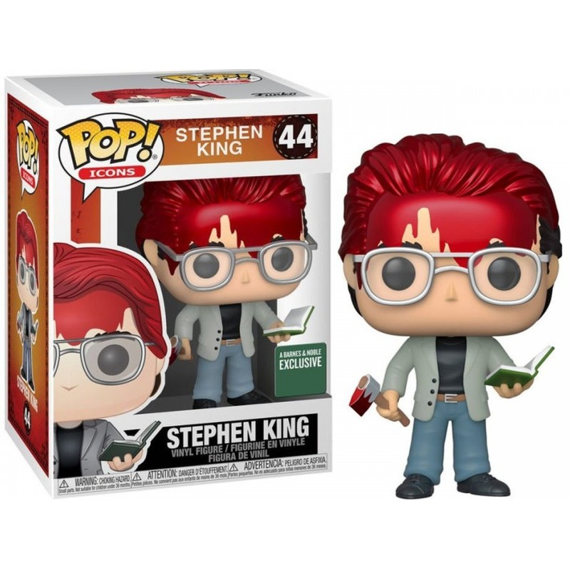 Funko Pop! - Stephen King - Exclusivo B&N