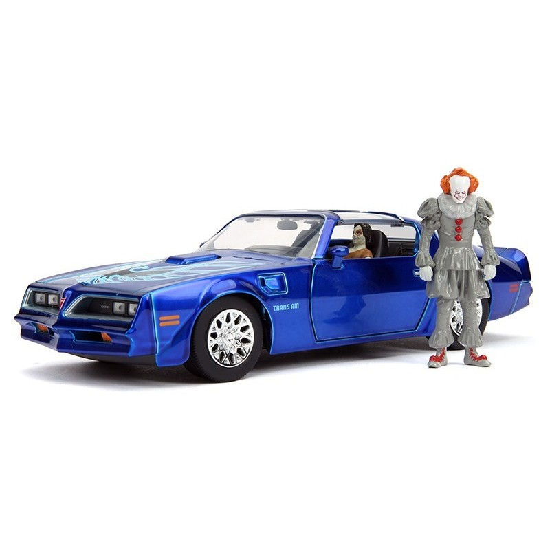 """Pennywise y Henry Bower Pontiac """"IT Chapter 2"""" 1/24"""