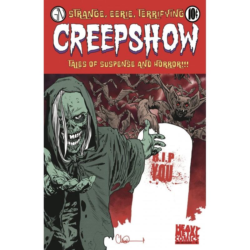 Creepshow 0 - Exclusivo SDCC - Firmado por Greg Nicotero