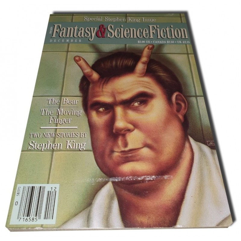 F. & Science Fiction - 12/90 FIRMADO por S. King