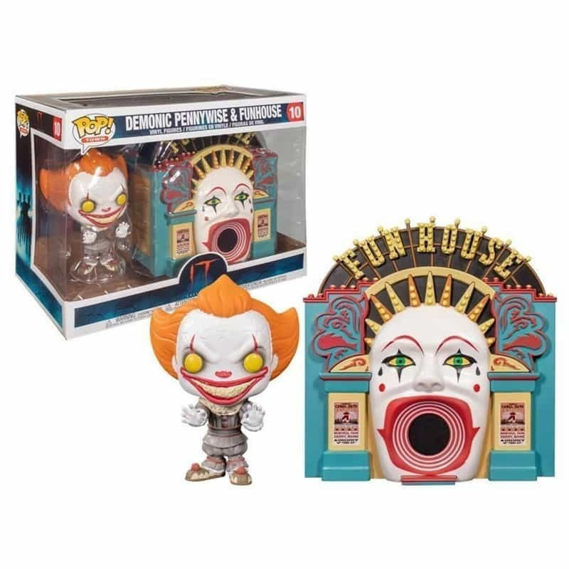 Funko POP TOWN DEMONIC PENNYWISE & FUNHOUSE (2020)