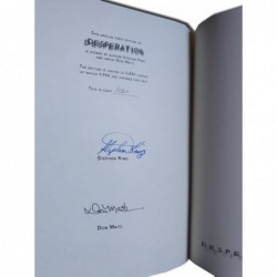 Desperation - Edición limitada firmada por King