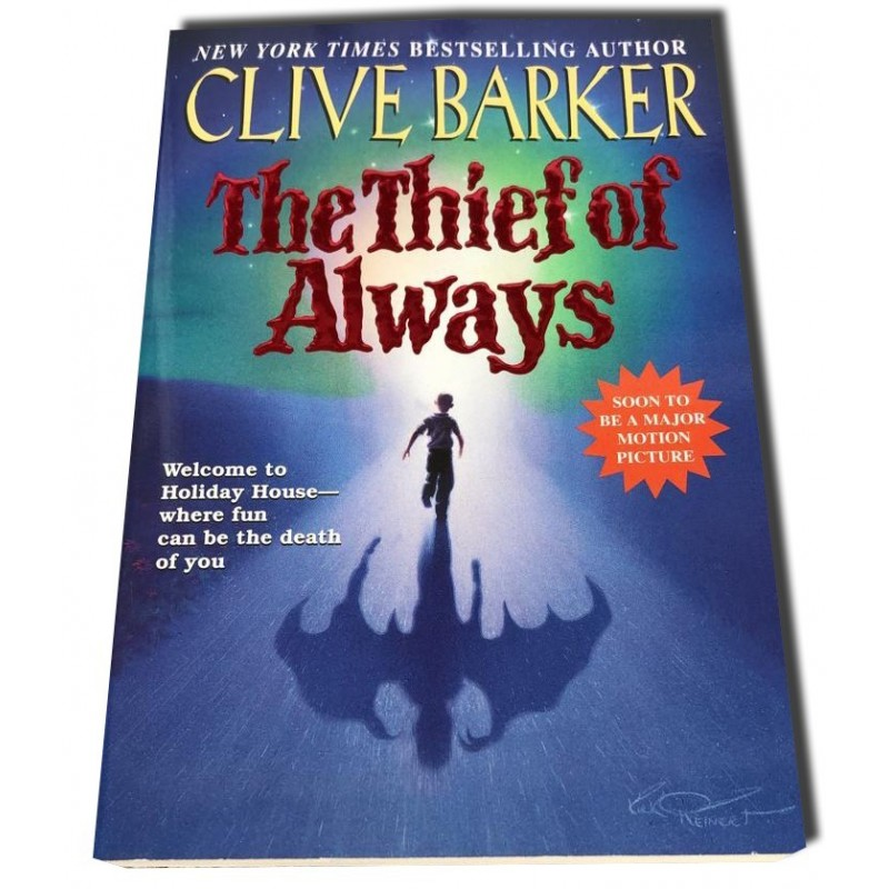 Clive Barker - The Thief of Always - Firmado