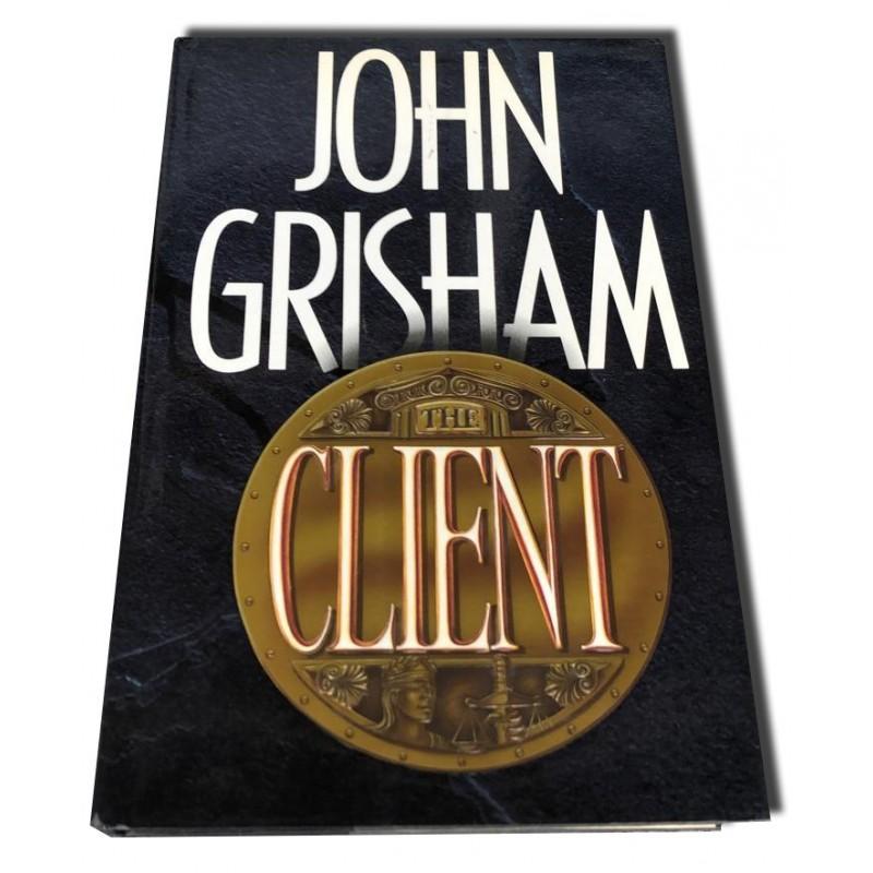John Grisham - The Client - Autografiado