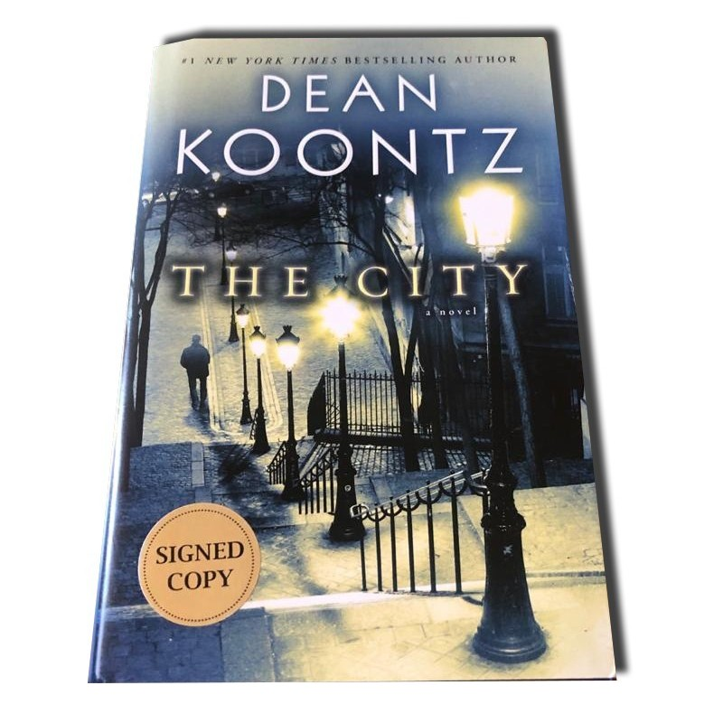 Dean Koontz - The City - Autografiado