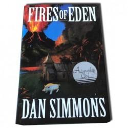Dan Simmons - Fires of Eden autografiado