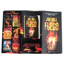 Joe Hill FUEGO - Folleto