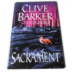Clive Barker - Sacrament - Autografiado